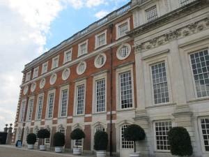Das Schloß Hampton Court Palace