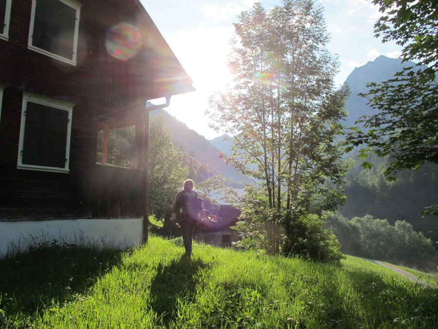 Großes Walsertal Vorarlberg