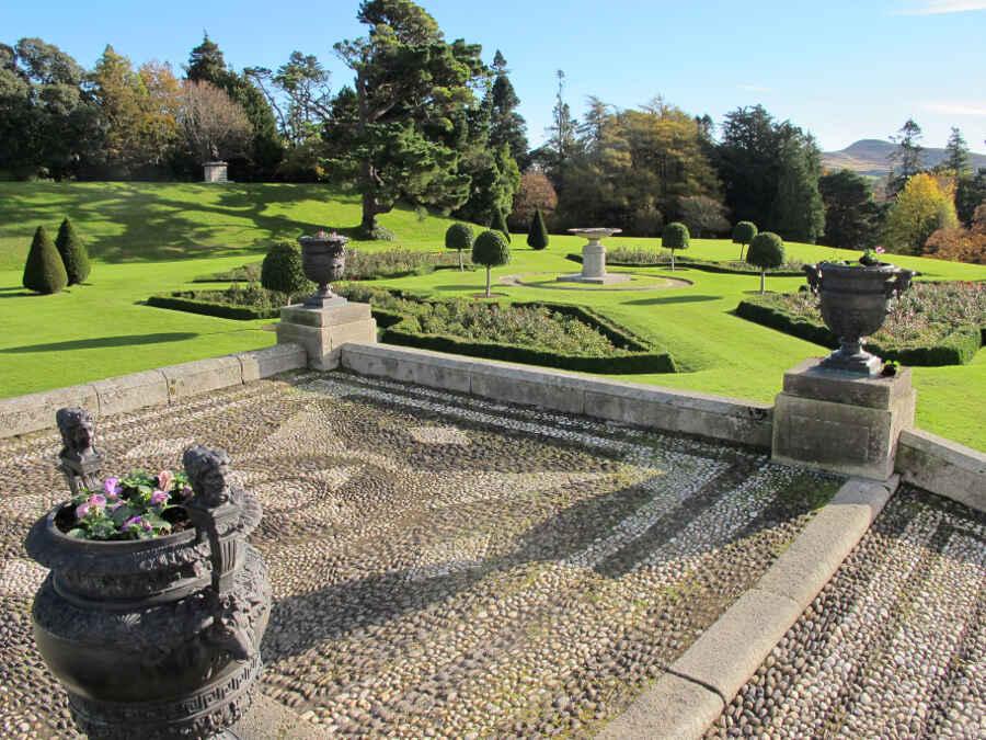 Powerscourt Palace Gardens 10 - vonREISENundGAERTEN