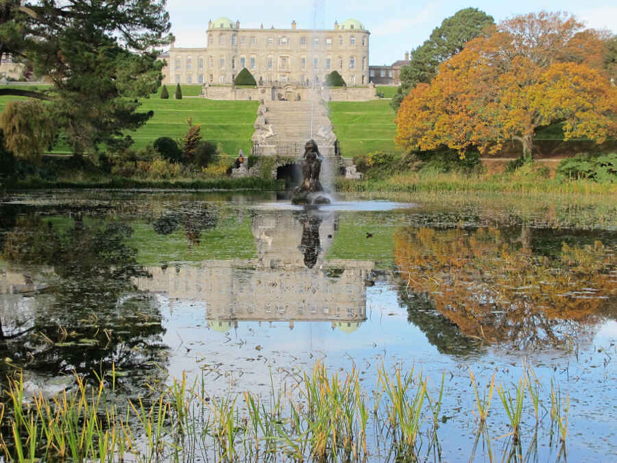 Powerscourt Palace Gardens 20