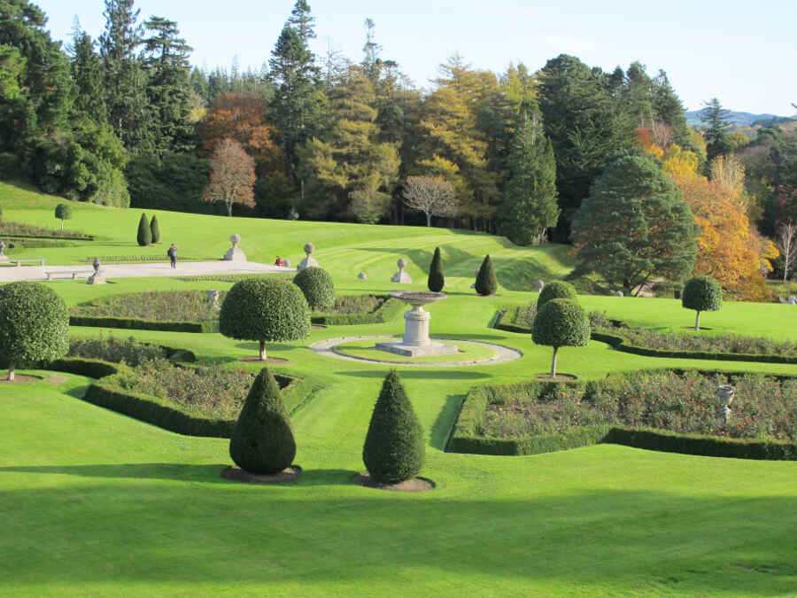 Powerscourt Palace Gardens 33