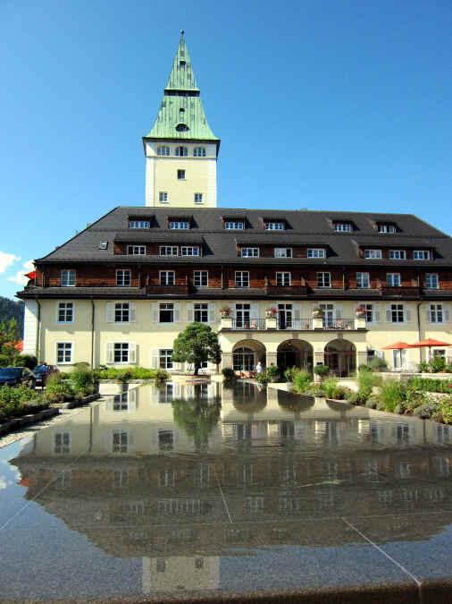 Foto von Schloss Elmau