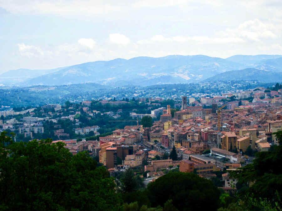 Parfumstadt Grasse in der Provence