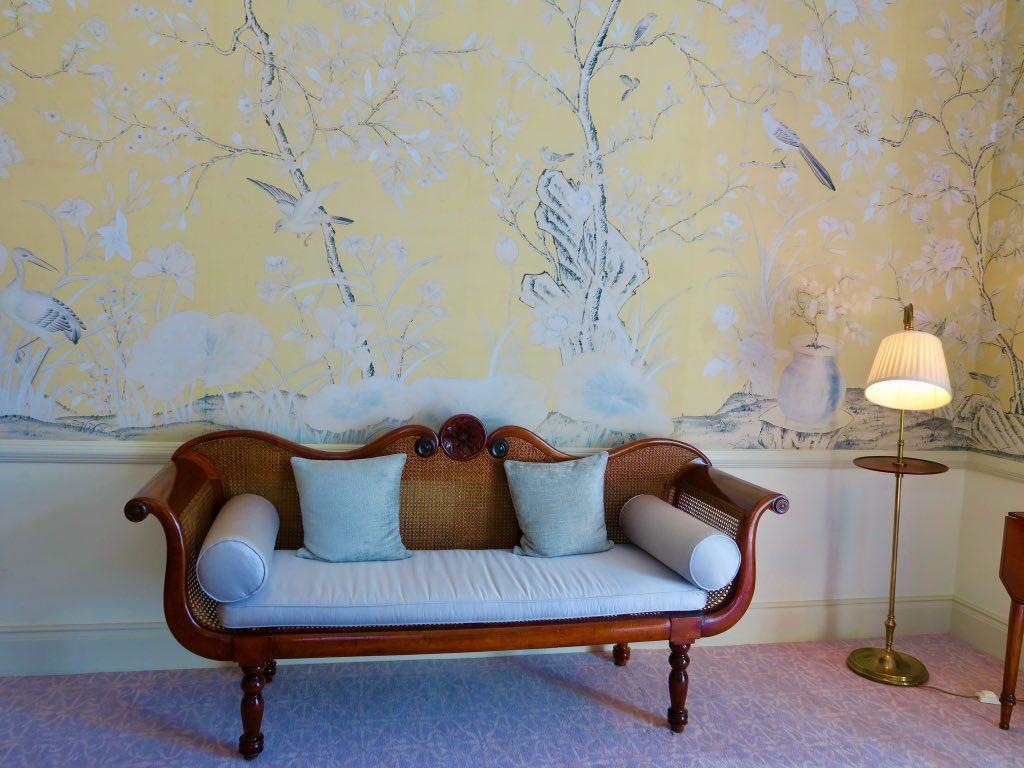 Handgemalte Wandtapeten in der Präsidentensuite im Belmond Reid's Palace ©DDAVID