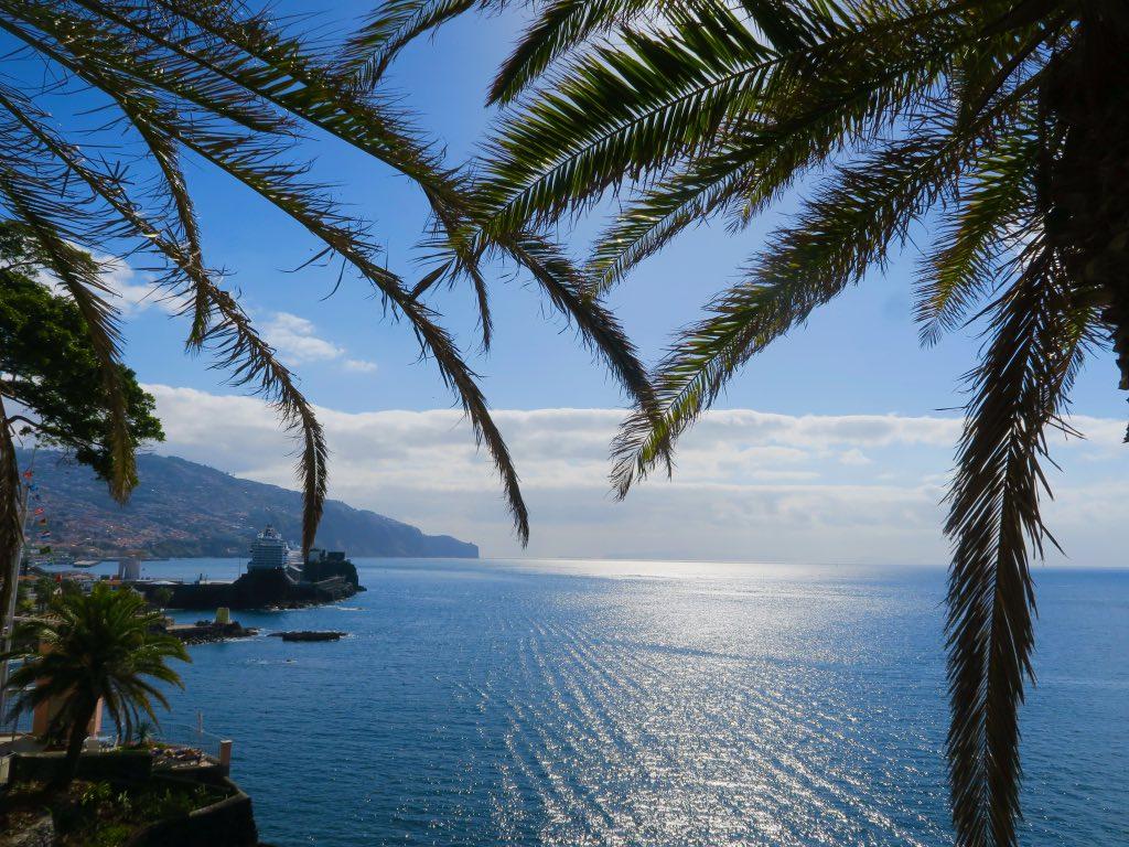 Blick vom Belmond Reid's Palace auf die Bucht von Funchal ©DDAVID