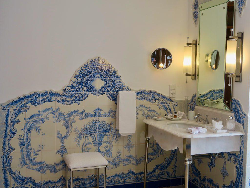 Kunst im Badezimmer – Azulejos im Belmond Reid's Palace ©DDAVID