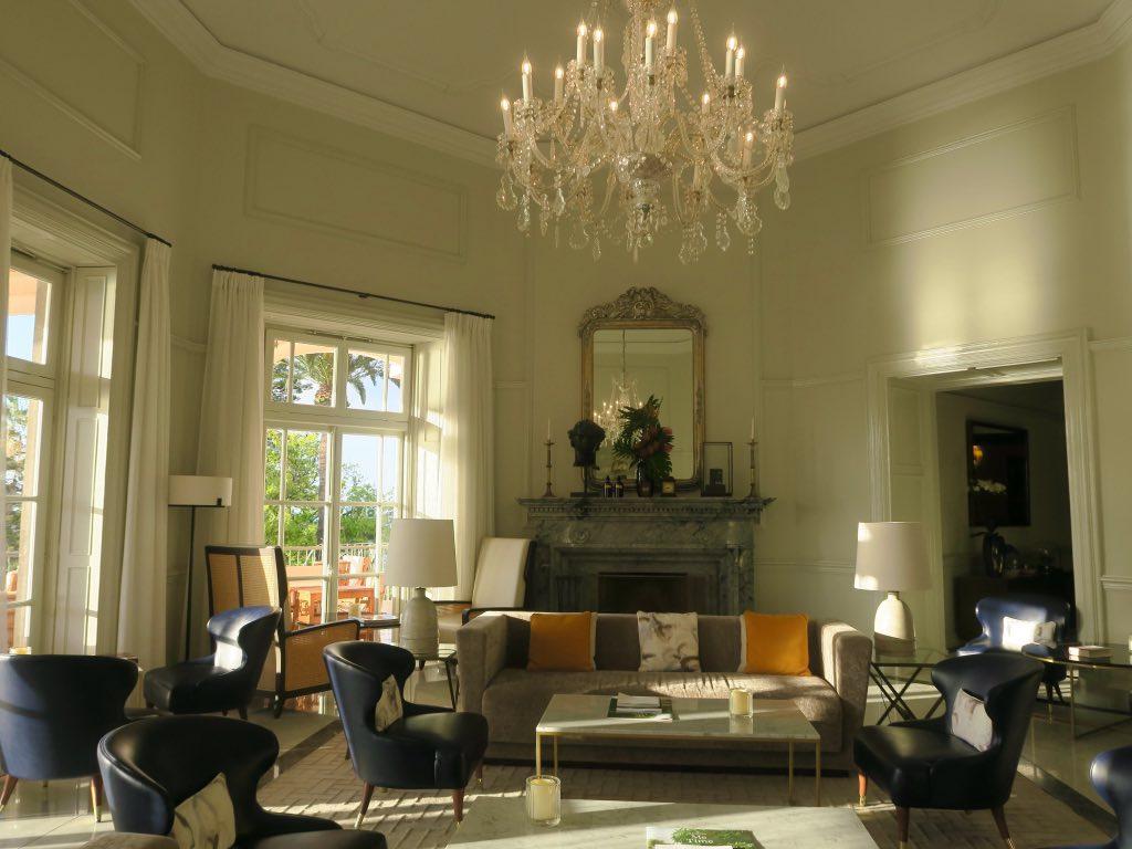 Elegantes Interieur des Hotels Belmond Reid's Palace ©DDAVID
