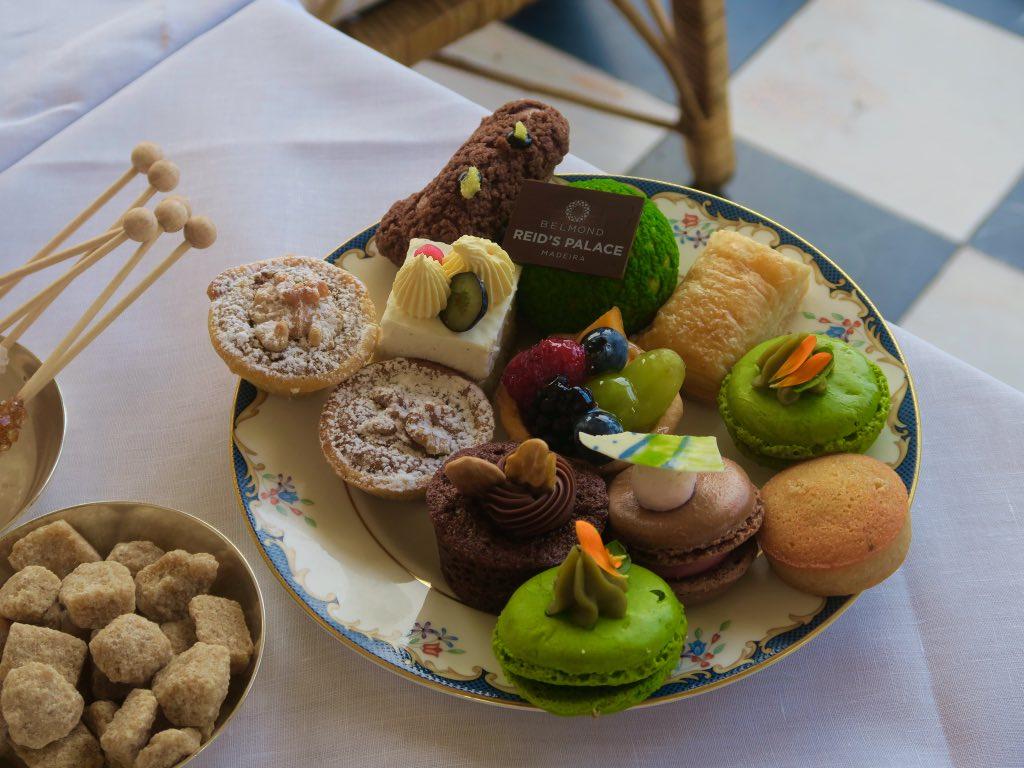Die berühmte Tea time im Belmond Reid's Palace auf Madeira ©DDAVID